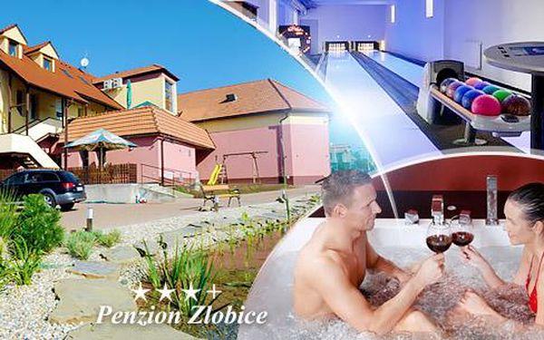 Kroměříž: 3-6 dní pro 2 osoby včetně polopenze + neomezený wellness, možná degustace vín a další