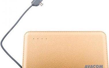 Avacom 6000mAh 2.1A champagne (PWRB-6000AU)