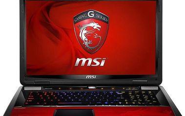 Herní notebook MSI GT70 2OD-228CZ, Dragon Edition, červený + 200 Kč za registraci