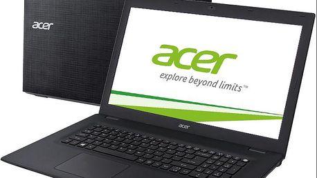Notebook Acer TravelMate P277, 17,3 NX.VB2EC.001, černý + 200 Kč za registraci