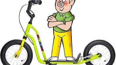 Yedoo Čtyřlístek Mini Bobík žlutá/zelená