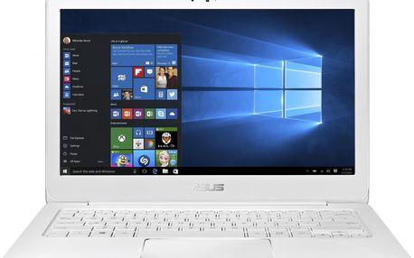 Ultrabook Asus Zenbook UX305CA, bílý + 200 Kč za registraci