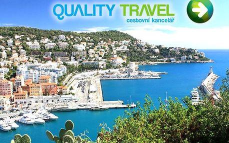 Zájezd pro jednoho - Francouzská Provence a koupání v Nice, doprava, ubytování snídaně, průvodce.