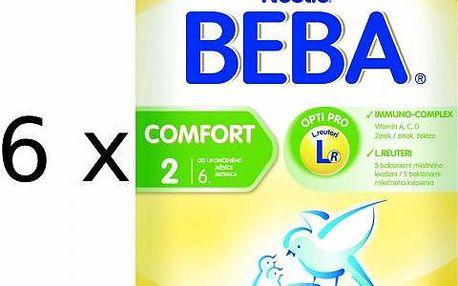 Nestlé BEBA COMFORT 2 - 6 x 600g