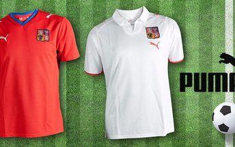 Národní fotbalové dresy Puma pro správné fandy