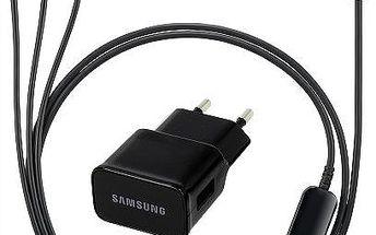 Kabel Samsung nabíjecí ET-KG900E s nabíječkou (ET-KG900EBEGWW) černý