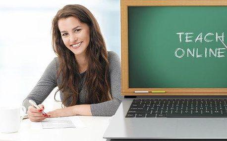 Půlroční nebo roční online kurz cizího jazyka včetně certifikátu.Angličtina, němčina nebo francouzština nebo kurz obchodní angličtiny.Zvládněte všechny jazykové dovednosti: slovní zásobu, poslech, psaní, gramatiku,dokonce i výslovnost - vše v pohodlí Va