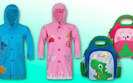 Dětské termotašky a pláštěnky Nell