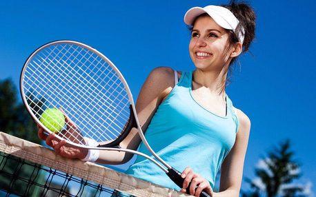 Pronájem tenisového kurtu uvnitř nebo venku