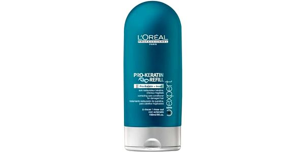 L´Oréal Paris Expert Pro-Keratin Refill Conditioner 150ml Kondicionér na barvené, poškozené vlasy W Kondicioner pro oslabené vlasy