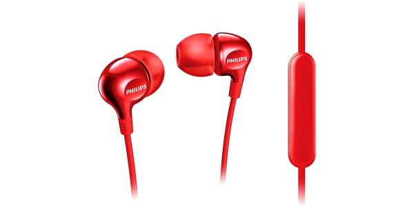 Sluchátka Philips SHE3705RD (SHE3705RD) červená