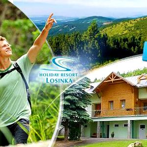 Wellness pobyt na 3 nebo 5 dní pro dva s polopenzí a nápoji v resortu Losinka - Jeseníky