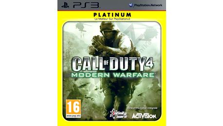 Call of Duty 4: Modern Warfare (PS3) - 82249UK