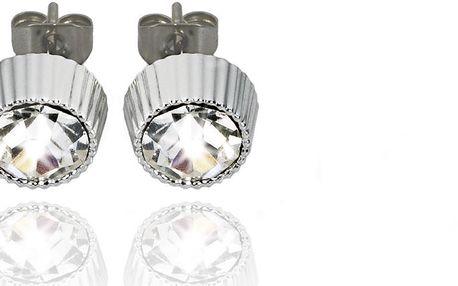 Fashion Icon Náušnice pecky stříbrné 6 mm