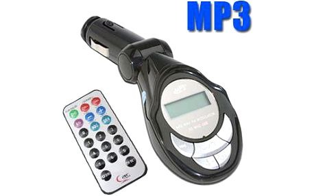 Transmitter FM do auta - MP3 USB transmitter