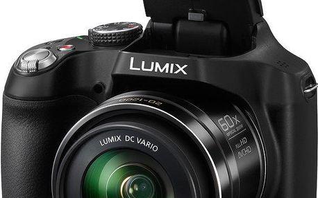 Digitální fotoaparát Panasonic s 60x optickým zoomem