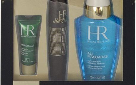 Helena Rubinstein Lash Queen Mystic Blacks dárková kazeta pro ženy řasenka Lash Queen Mystic Blacks 7 ml + odličovač All Mascaras 50 ml + oční péče Powercell 3 ml