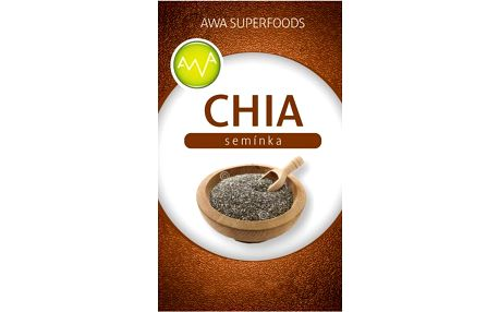 Chia semínka AWA superfoods 500 g - SLEVA blížící se datum spotřeby