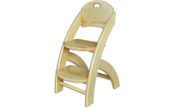 Velice oblíbená Dětská dřevěná rostoucí židle STRAKOŠ KT 201