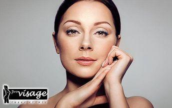Mikrojehličková frakční radiofrekvence obličeje na klinice Pro visage v Praze