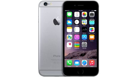 Apple iPhone 6, 16 GB, vesmírně šedý, EU