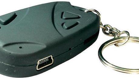 Špionská Micro kamera ve tvaru klíčenky.