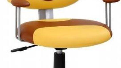 Tip na krásný dárek, Dětská otočná židle STRAKOŠ medvídek