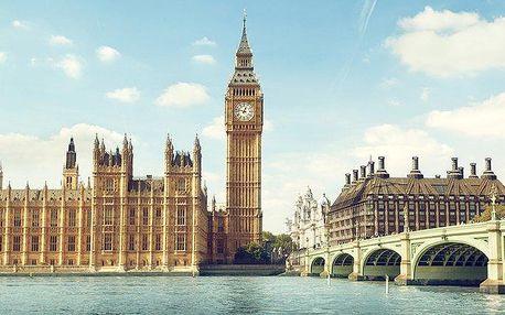 6denní zájezd do Anglie subytováním pro 1 osobu