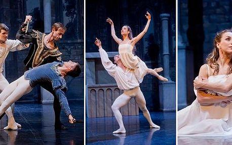 Romeo a Julie v Divadle Hybernia. Baletní představení jednoho z nejznámějších příběhů lásky v historii světového dramatu. Přeneste se do severoitalské Verony a prožijte spolu s Romeem a Julií milostnou tragédii v nádherných prostorách divadla Hybernia.