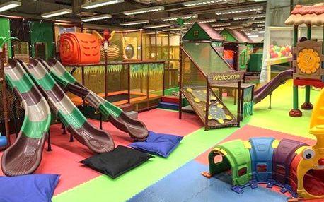 Vstup do dětského zábavního centra Amazonie