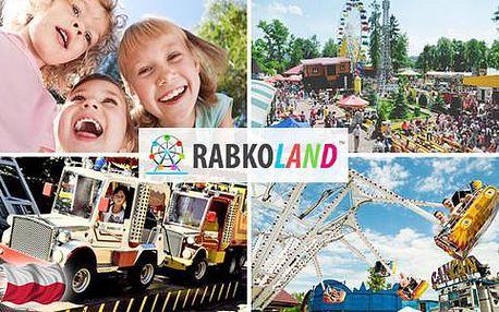 Vstup do největšího lunaparku Rabkoland