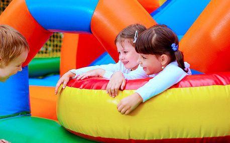 Celodenní vstup do dětského zábavního centra