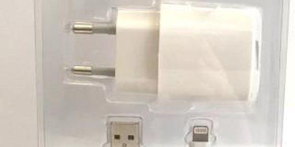 Apple iPhone 5 datový kabel + USB nabíječka