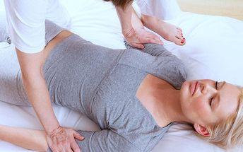 Harmonizační hodinová masáž s prvky shiatsu
