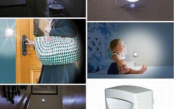 Světlo reagující na pohyb Mighty Light - Žádné dráty, žádná složitá instalace, rozsviťte si tam kde potřebujete.
