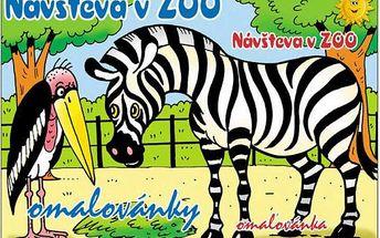 Omalovánky - Návštěva v ZOO - dodání do 2 dnů