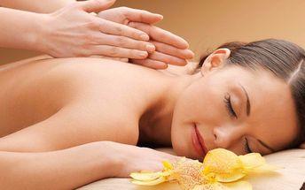 30 nebo 60minutová masáž se skořicovým zábalem