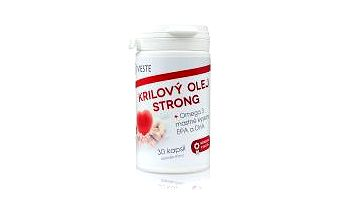 VIESTE Krilový olej STRONG Omega - 30 kapslí : VÝPRODEJ exp. 2016-04-01