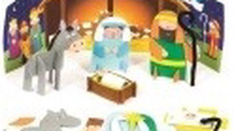 Pěnový 3D Betlém (2 ks)