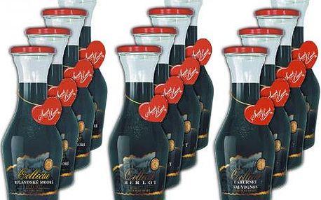 Víno Tomai, degustační sada - 12 lahví červených, 0.75l