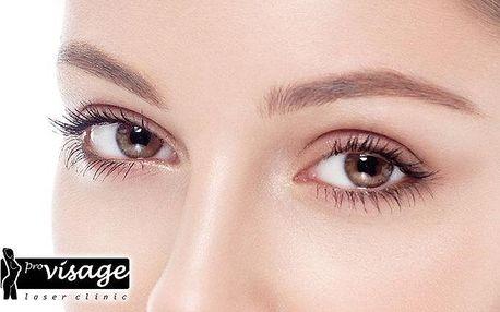 Bezbolestný neinvazivní lifting očních víček v klinice Pro visage v Praze