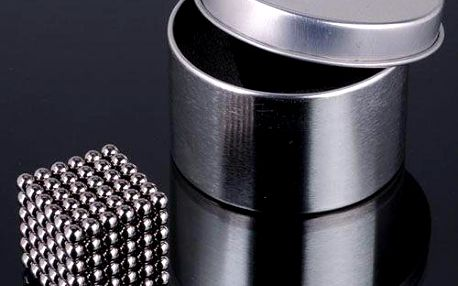 Magnetické kuličky NEOCUBE 5mm postříbřené 216ks