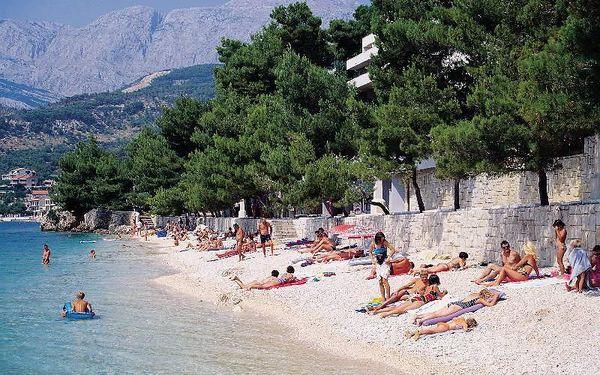 Chorvatsko - Podgora na 8 dní, bez stravy s dopravou vlastní 150 m od pláže