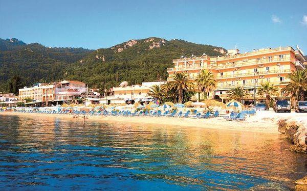 Řecko - Korfu na 8 dní, polopenze nebo snídaně s dopravou letecky z Brna nebo letecky z Prahy 200 m od pláže