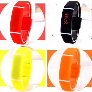 Silikonové LED hodinky pro sportovní nadšence - poštovné zdarma