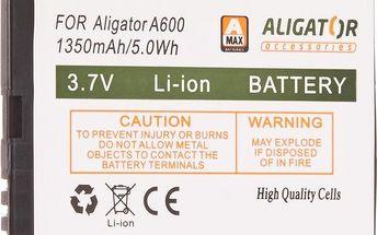 Aligátor baterie 1350mAh Li-Ion pro A600, A610, A430 (EU blister)