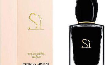 Armani Sì Intense - parfémová voda s rozprašovačem 100 ml + doprava zdarma