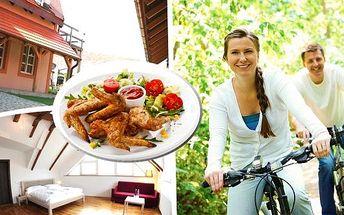 Relaxační dovolená v kraji vína a slunce pro dva na 3 nebo 4 dny v penzionu Na Mlatě. Příjemné ubytování, výborná polopenze, nápoj k večeři, zapůjčení kol na celý den a milá atmosféra.