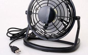 USB stolní ventilátor