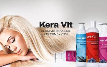Brazilský keratin 50 ml nebo 100 ml. Vysoce regenerační keratinová kúra pro vaše vlasy.